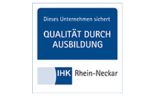 Qualität durch Ausbildung - IHK - Logo